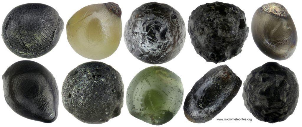 10 Mikrometeorite