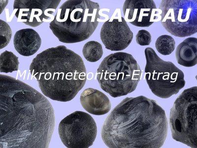 Analyse des Mikrometeoriten-Eintrags durch wiederholte Beprobung zweier Dächer in Berlin: Hintergrund und Versuchsdesign
