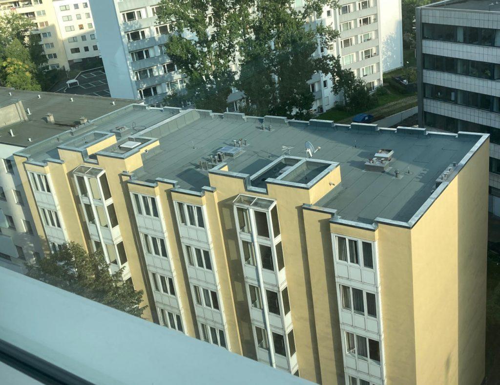 Dach HAPIMAG - Beprobungsstandort