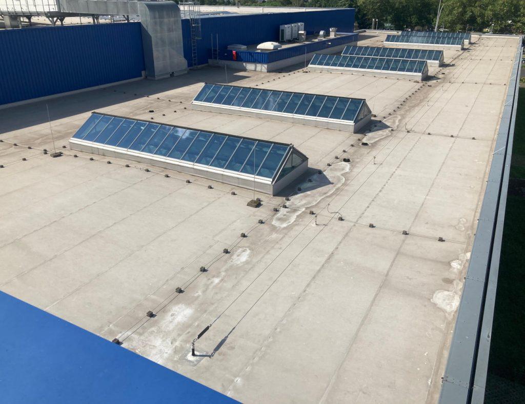 Dach IKEA - Beprobungsstandort